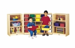 20 Tray Mobile Triple Fold-n-Lock Storage Unit [0323JC-JON]