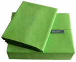 200 Thread Count Lime Solid Color Bright Sheet Set - Twin
