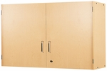 2000 Series 24''H Secured Locking Teacher Wall Mounted Cabinet [2313A-TOT]