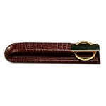 2000 Series Crocodile-Embossed Leather - Library Set [A2027-FS-DAC]