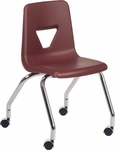 2000 Series Mobile Chair with 18''H Seat Height [2050-VCO]