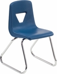 2000 Series Sled Base Stack Chair with 14''H Seat Height [2614-VCO]