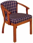 2018 Reception Chair w/ Upholstered Back & Web Seat - Grade 1 [2018-GRADE1-ACF]