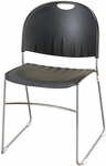 2100 Series Stacking Multipurpose Polypropylene Chair with Steel Sled Base [2100-IFK]