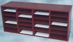 24 Compartment Laminate Literature Organizer [7821-NIND]