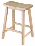 24''H Saddle Seat Stool [84084-FS-WWT]
