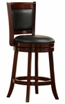 24'' H Swivel Barstool With Vinyl Cushion [1131-24S-FS-HOM]