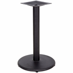 24'' Round Base with 4'' Dia. Table Height or Bar Height Column [BFHD-7-24RBAS-TDR]