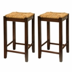 24'' Rush Stool-Set of 2 [94774-FS-WWT]