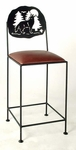 24'' Silhouette Counter Stool [GMC-SML-24-FS-GCM]