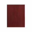 24'' x 30'' Rectangular Mahogany Resin Table Top