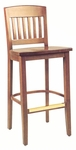 2491 Bar Stool w/ Wood Seat [2491-ACF]