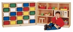 25 Tray Cubbie Fold-n-Lock Storage Unit [0428JC-JON]