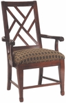 2550 Arm Chair w/ Upholstered Seat - Grade 1 [2550-GRADE1-ACF]