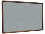 2600 Series Tackboard with Bullnose Wood Face Frame in Claridge Cork [2623CC-CLA]