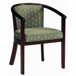 2650 Lounge Chair w/ Upholstered Back & Webbed Seat - Grade 1 [2650-GRADE1-ACF]