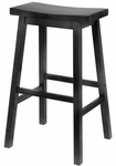 29''H Bar Stool with Saddle Seat [20089-FS-WWT]