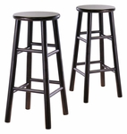 29''H Bevel Seat Stools-Set of 2 [92780-FS-WWT]