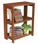 Flip Flop 28''H High Folding Wooden Bookcase - Cherry [HBCF2921CH-FS-REG]