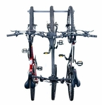 Powder Coated Steel Three Bike Storage Rack [01003-FS-MBG]