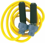 3 lbs. Weighted Jump Rope in Yellow [HR3-FS-CHS]