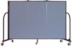 3 Panel Heavyduty Divider 5'9'' Wide [HFSL603-SCF]