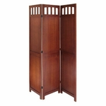 3-Panel Wood Folding Screen [94370-FS-WWT]