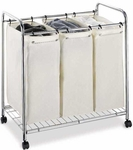 3 Section Laundry Sorter [1763-FS-OIA]
