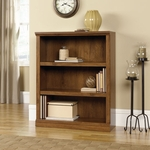 3 Shelf Wooden 44''H Bookcase with 2 Adjustable Shelves - Oiled Oak [410372-FS-SRTA]