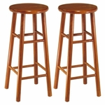 30''H Barstool-Set of 2 [75280-FS-WWT]