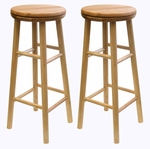 30''H Swivel Stool-Sets of 2 [88830-FS-WWT]