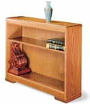 30 Traditional Series Open Bookcase [3036-FS-HALE]