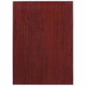 30'' x 42'' Rectangular Mahogany Resin Table Top