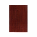 30'' x 45'' Rectangular Mahogany Resin Table Top
