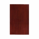 30'' x 48'' Rectangular Mahogany Resin Table Top