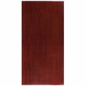 30'' x 60'' Rectangular Mahogany Resin Table Top