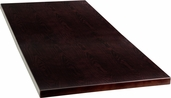 24'' x 45'' Rectangular Walnut Veneer Table Top