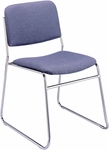 300 Series 2'' Seat Armless Upholstered Stack Chair [320-IFK]