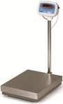 Steel Bench Scale with Rechargeable Battery and Auto Shut Off Timer - 300 lb Capacity [S100-300-SALB]