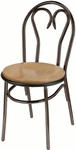 3200 Series Hospitality Heart Back Chair with Wood Seat [3220-WOOD-IFK]