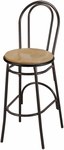 3200 Series Hospitality Rounded Back Barstool with Wood Seat [BR3210-WOOD-IFK]