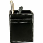 3200 Series Rustic Leather - Pencil Cup [A1210-FS-DAC]