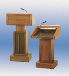 326 Adjustable Height Lectern [326M-CLA]