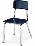 3300 Series Hard Plastic Chair with 14''H Seat [3314-VCO]
