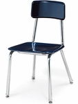 3300 Series Hard Plastic Chair with 16''H Seat - 16.5''W x 21.12''D x 29.5''H [3316-VCO]