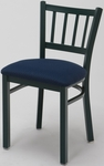 3309 Series Cafe Chair with Upholstered Seat [3309-IFK]