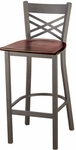 3310 Series Cafe Barstool with Wood Seat [BR3310-WOOD-IFK]