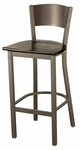 3315C Series Cafe Barstool with Wood Seat and Back [BR3315C-WOOD-IFK]