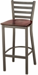 3316 Series Cafe Barstool with Wood Seat [BR3316-WOOD-IFK]