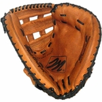 34'' Fast Pitch Full-Grain Leather Catcher's Mitt [MCCM300X-FS-AC]